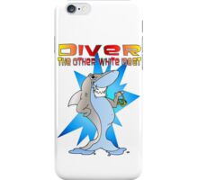 Diver the other White Meat iPhone Case/Skin