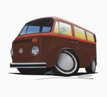 VW Bay Window Camper Van (F) by Richard Yeomans