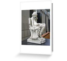 Aristotle as a Youth 2 Greeting Card