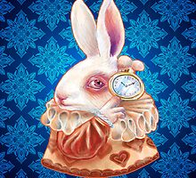 Alice in Wonderland - The White Rabbit by Kristin Frenzel