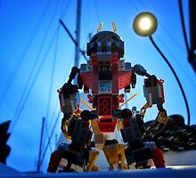 Round 2: Evil-mech by bricksailboat