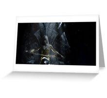 Crystal Lightning Greeting Card