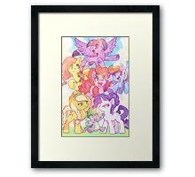 Crystal Empire Framed Print