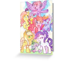 Crystal Empire Greeting Card