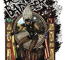 The Honey Badger! by WorkofArtStudio