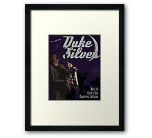 Duke Silver Framed Print