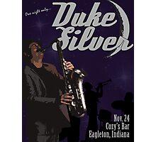 Duke Silver Photographic Print
