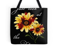 Look at the Flowers Tote Bag