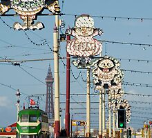 blackpool prom by photoeverywhere