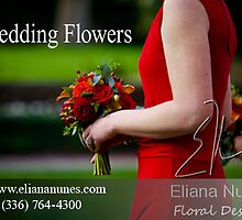 Wedding Flowers by Florist in Winston Salem, NC by eliananunes