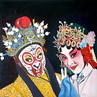 Beijing Opera Characters 1 by Joseph Barbara