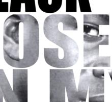 BLACK ROSES Sticker