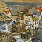 The Bridge, Staithes by Sue Nichol