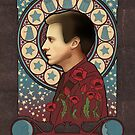 Rory Williams art nouveau , Doctor Who , TARDIS by koroa