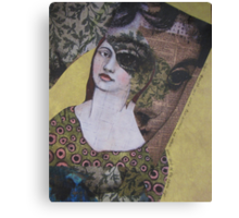 even though we were two women, we often saw out of the same eye Canvas Print