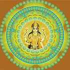 Lakshmi Goddess of Abundance and Prosperity by shoffman