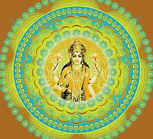 Lakshmi Goddess of Abundance and Prosperity by Sarah Niebank