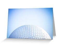 Epcot - Spaceship Earth  Greeting Card