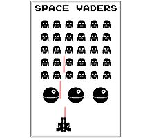 Space Vaders Photographic Print