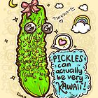 Pickles Can Be Very Kawaii! by fionfairyland