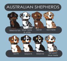 Australian Shepherds by briteddy