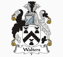 Walters Coat of Arms / Walters Family Crest Kids Clothes
