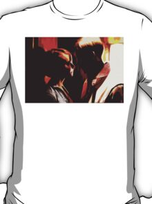 Abstract Elevator Scene from Drive T-Shirt
