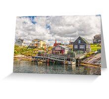 Wharf Hags Greeting Card