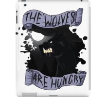 The Wolves are Hungry iPad Case/Skin