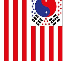 US Flag Korea by viixiigfl