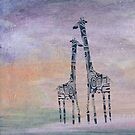 giraffes by Marianna Tankelevich