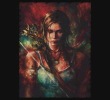 Tomb Raider lara croft reborn best artwork by shahidk4u