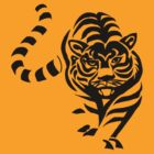 tiger t-shirt on lite by parko