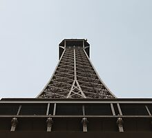 Eiffel Tower Angle by shoelock