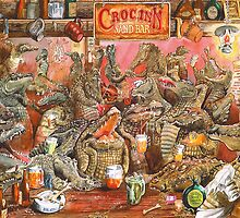 Crocodile Bar! by RoseRigden