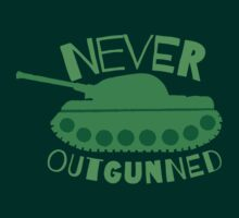 NEVER OUTGUNNED with green tank by jazzydevil