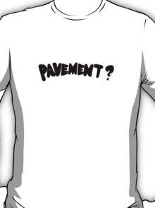 Pavement wowee zowee logo black T-Shirt