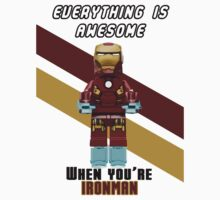 Lego Ironman - Everything is awesome. by djprice