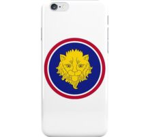 106th Infantry Division iPhone Case/Skin