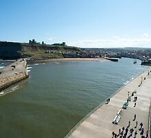 whitby harbour by photoeverywhere
