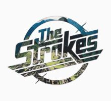 The Strokes Logo Machu Picchu by gakest