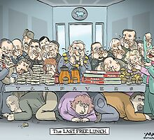 The Last Free Lunch by MacKaycartoons