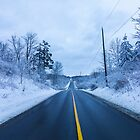 Winter Road by John Velocci