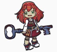 Little Key Girl by stuffnotthings