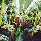 on the tube by Tess Smith-Roberts