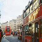 regent street buses by Tess Smith-Roberts