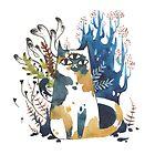 Kalanchoe - Feline Terrarium by Jennalee Auclair