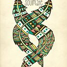 Soul Mate Feathers by Pom Graphic Design