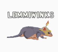 Lemmiwinks the brave adventurer by GuitarManArts
