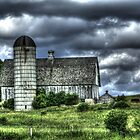 Northern Illinois Barn by Roger Passman